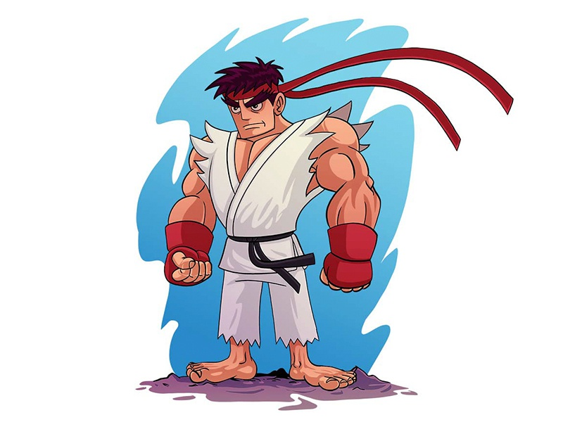 Ryu By Mithat Gokce On Dribbble