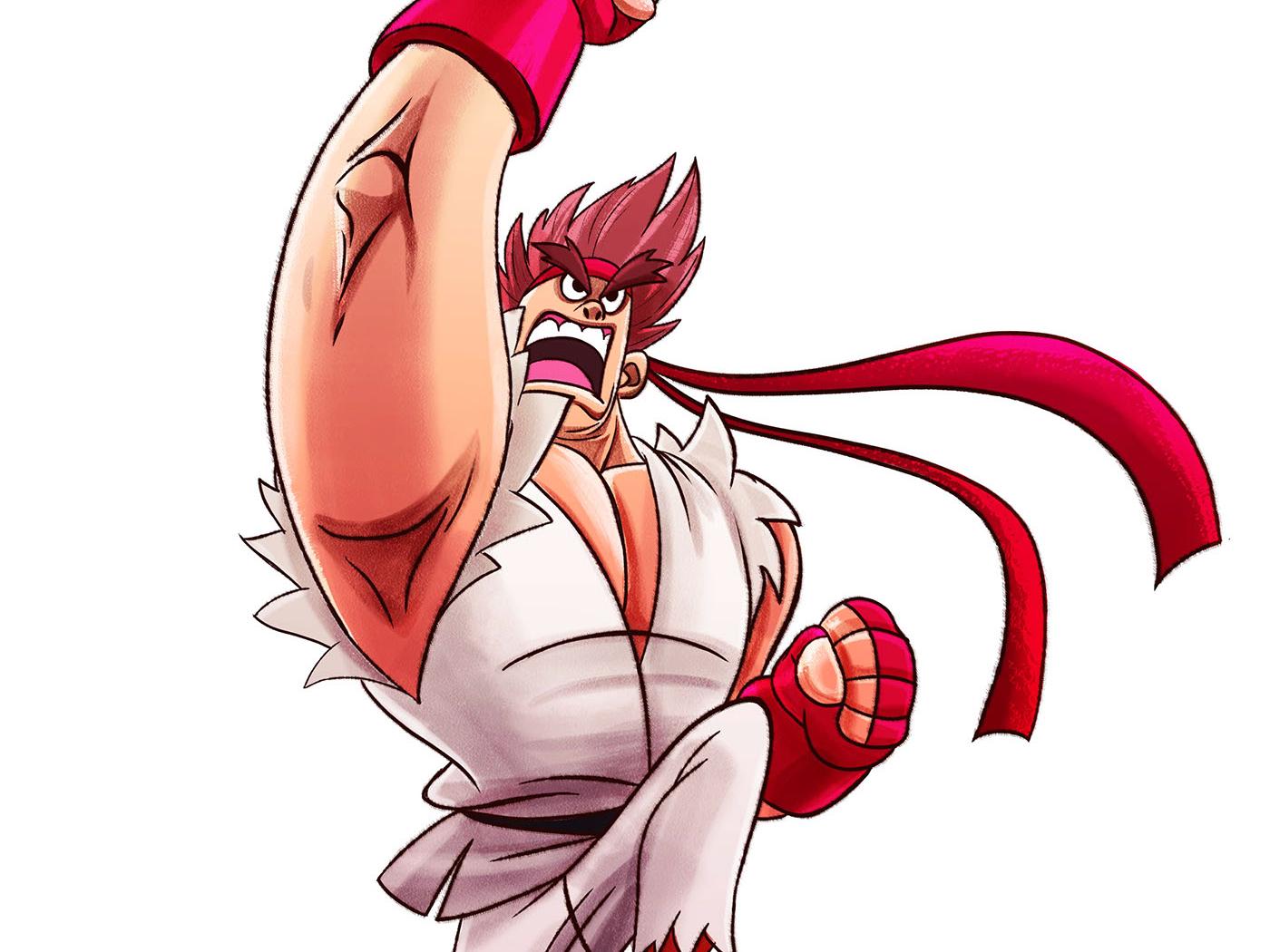 Ryu By Mithat Gökçe On Dribbble