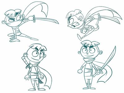 Ninja ninja game characters game toon cartoon comic cartoon drawing draw character design character creation illustration animation design art