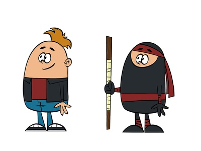 Ninja Boy ninja background game characters game toon cartoon comic cartoon drawing draw character design character creation illustration animation design art