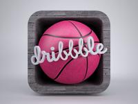 Dribbble icon2