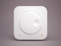 Knob 3D icon