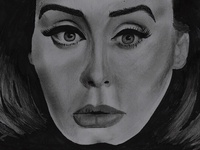 "Adele ""Hello"" Drawing"