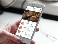 Food Delivery Service mobile view