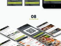 Food delivery app presentation