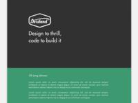 Derstand Designs On Dribbble