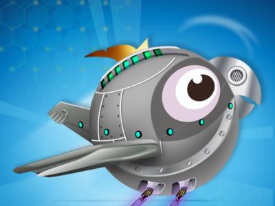 robort bird illustration icon gamedesign designer game art game design