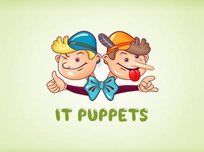 IT puppet logo design designer ux icon logo gamedesign ui