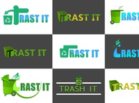 Trash logo design gamedesign photoshop icon design icon ux ui logo game design game art designer