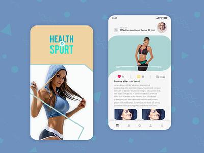 Fitness App   Mobile App design gamedesign icon icon design photoshop logo ux ui game art game design designer