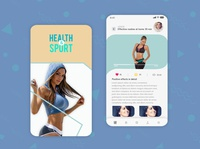 Fitness App | Mobile App design gamedesign icon icon design photoshop logo ux ui game art game design designer