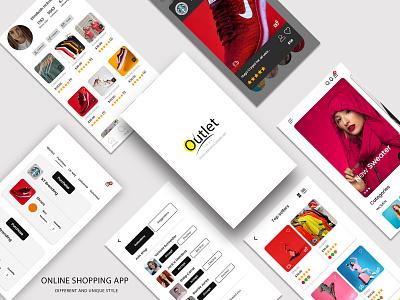 Ecommerce mobile app typography game design designer branding icon design photoshop illustration logo mobile app website ui  ux ecommerce app
