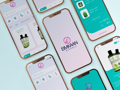 Shampoo or Cosmetic mobile app vector icon design prototype designer logo branding illustration photoshop uiux xd design