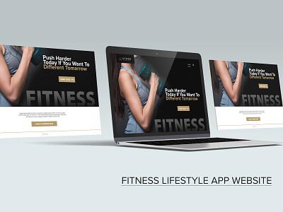 Fitness lifestyle app website mobile app prototype xd design typography website gamedesign icon design logo photoshop illustration branding uiuxdesign