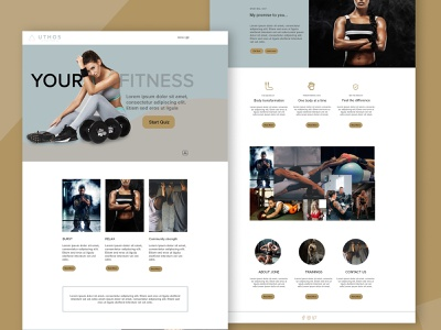 Fitness app website icon prototype mobile app website illustration xd design uiux logo vector branding game design design photoshop