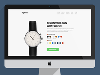 Tymed - An interactive online watch store