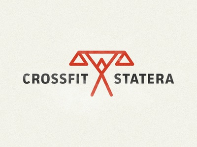 Crossfit Statera Branding branding logo fitness gym design