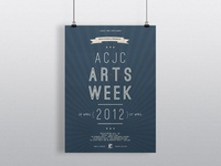 Arts Week Event Poster