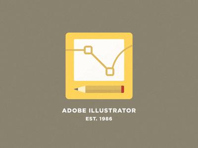 Adobe Illustrator - Flat Logo Concept illustration concept flat design icon logo vector illustrator adobe