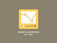 Adobe Illustrator - Flat Logo Concept