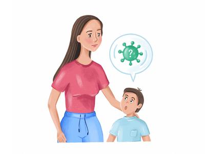 Talking to kids about virus