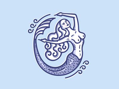 Mermaid (for beauty salon)