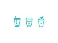 Minimal Drinks Icons