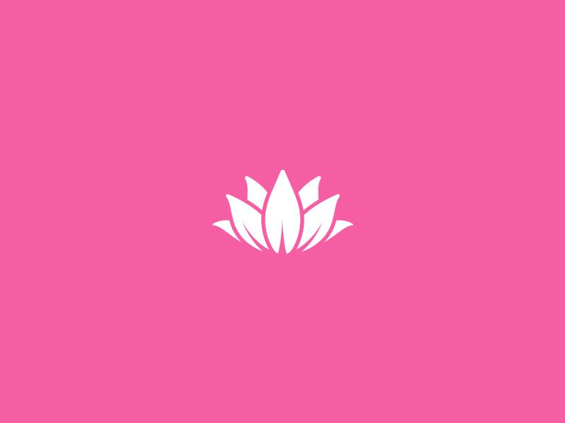 Lotus Marque logo logo design branding identity brand identity pink lotus flower