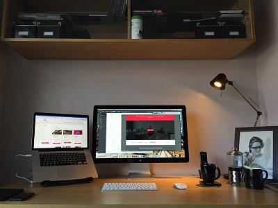 My Workspace workspace office home desk setup workstation