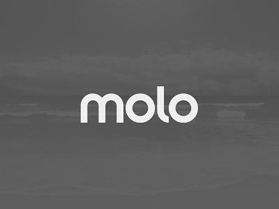 Molo Logotype identity logo logotype brand molo molokai