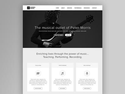 Morris Music WIP