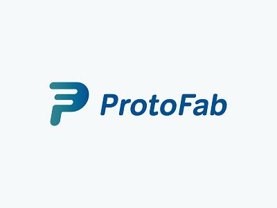 Protofab Logo identity logo branding