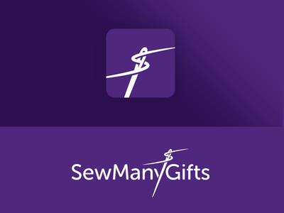 SewManyGifts Logo and App Icon