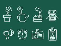 Sketch App Icons (Vector)