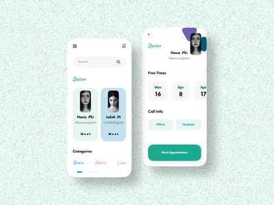 ui design for get doctors appointment uidesigner uxdesigner uxdesigns uidesigns uxdesign ux  ui ui  ux 2020 design 2020 trends 2020 2020 trend uxui ux design uiux ui ui design mobile app uidesign mobile app design