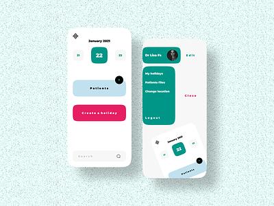ui design for doctors ux  ui uiux dailyui 2021 design 2021 trend 2021 mobile app design daily ui mobile design mobile ui app ui  ux ui design ui uxdesign uidesign ux design app design mobile app mobile