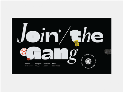 Invitation invitation card sticker vector illustration icon poster typography blog ux ui website design concept