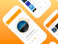 Conceptual Soundcloud Redesign