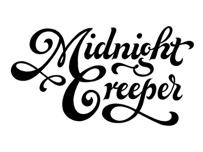 Midnight creeper lettering calligraphy type logotype logo