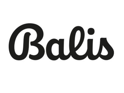 Balis calligraphy lettering logotype