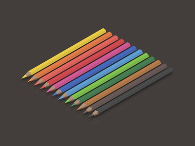 Everything / Colored Pencil Set