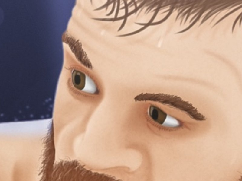 Mayweather vs. McGregor digital painting illustration mma mcgregor notorious mayweather money boxing