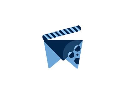 Media Logo minimal illustration icon design vector branding logo vectors illustator icon design
