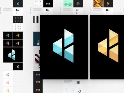 One tribe, One symbol: D3 Logo 3-d mark iteation layout microsoft vector branding brand visual studio developer team illustration icon logo process design