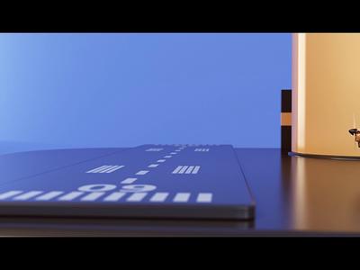 Planes sequence toys landing title planes website render animation 3d design webshocker