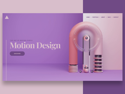 Cover animated visual motion design art abstract cover website render animation 3d design webshocker