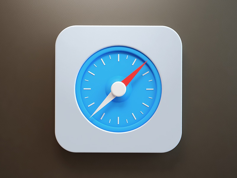 I know, I know webshocker safari design 3d icon fun ios7 ios
