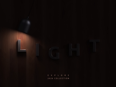 LIGHT - animation aftereffects 3dsmax vray product lights illustration logo branding website render animation 3d design webshocker