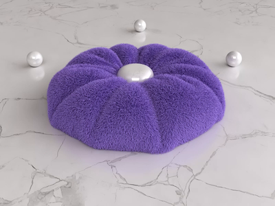 AIR - Seamless loop 3dsmax vray render oddly satisfying cloth loop animation 3d design webshocker