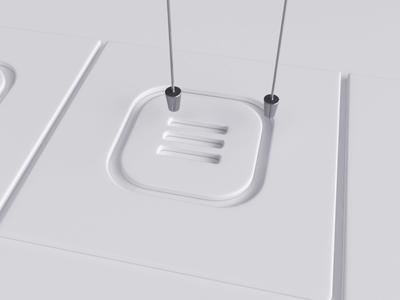 Menu vray loop 3dsmax realflow abstract icon render animation 3d design webshocker